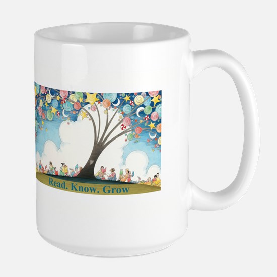 Magical Reading Tree Large Mug