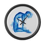 Yoga Paintings Wall Clock