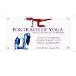Yoga Paintings Banner