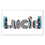Lucid Sticker (Rectangle)