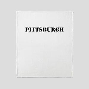Pittsburgh Throw Blanket