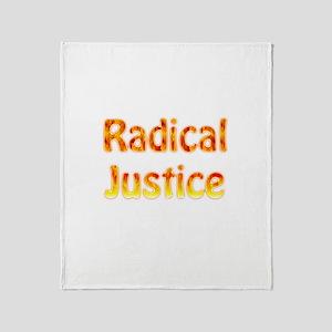 Radical Justice Throw Blanket