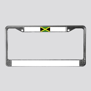Jamaica License Plate Frame