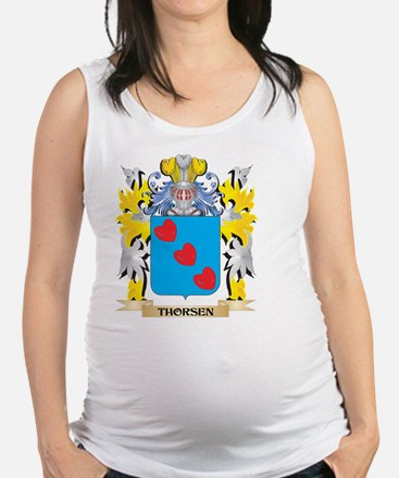 Thorsen Family Crest - Coat of Arms Tank Top