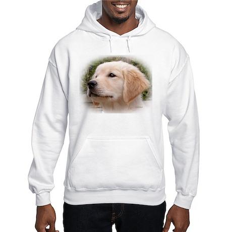 Golden Retriever Pensive Puppy Hoodie