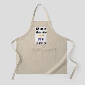 Chinese Shar Pei Best Breed BBQ Apron