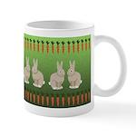 Rabbits and Carrots Mug