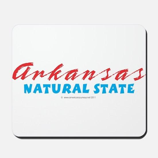 Arkansas - Natural State Mousepad