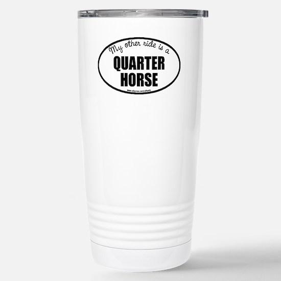 Quarter Horse Stainless Steel Travel Mug