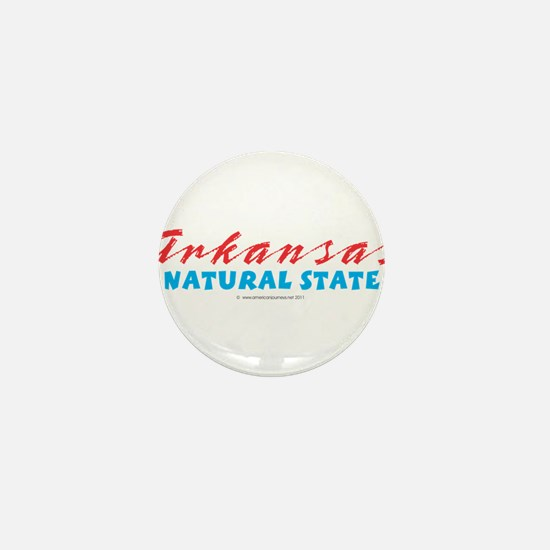 Arkansas - Natural State Mini Button