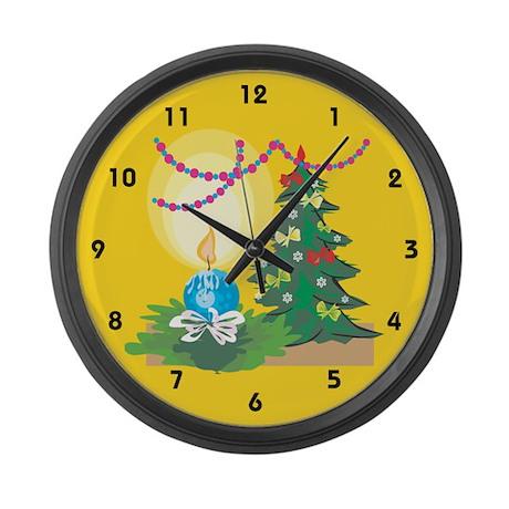Christmas Large Wall Clock