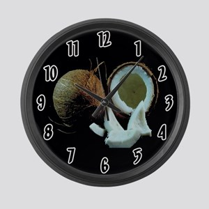 Coconut Large Wall Clock