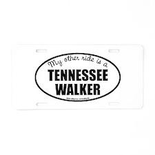 Tennessee Walking Horse Aluminum License Pla