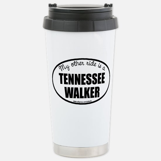 Tennessee Walking Horse Stainless Steel Travel Mug