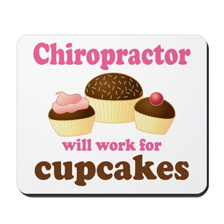 Funny Chiropractor Mousepad