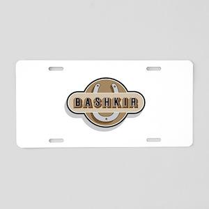 American Bashkir Curly Horse Aluminum License Plat