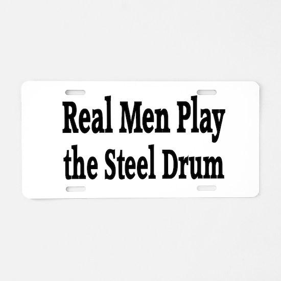 Steel Drum Aluminum License Plate