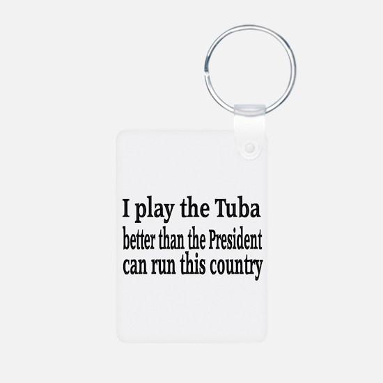 Tuba Keychains