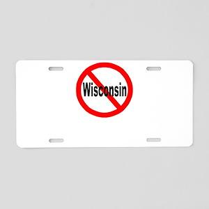 Wisconsin Aluminum License Plate