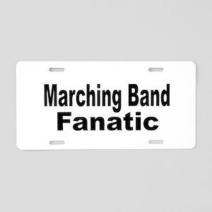 Band Fanatic Aluminum License Plate