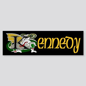 Kennedy Celtic Dragon Bumper Sticker
