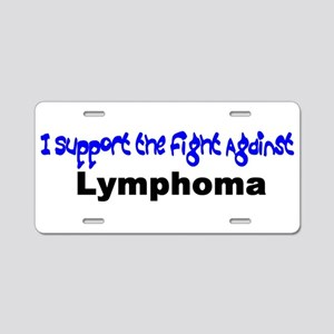 I Support Aluminum License Plate
