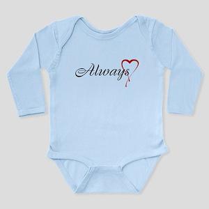 Always Long Sleeve Infant Bodysuit