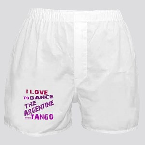LOVE TO DANCE ARGENTINE TANGO Boxer Shorts
