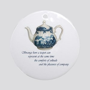 Teapot Ornament (Round)