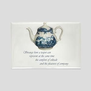 Teapot Rectangle Magnet