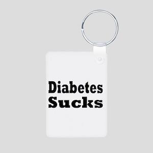 Diabetes Aluminum Photo Keychain