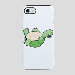 Little Turtle Down! Help Him! iPhone 7 Tough Case