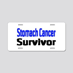 Stomach Cancer Aluminum License Plate