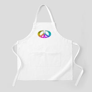 Peace Rainbow Splash Apron
