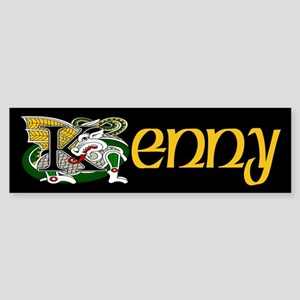 Kenny Celtic Dragon Bumper Sticker
