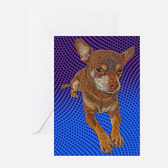 Comical Chihuahua Greeting Cards (Pk of 10)
