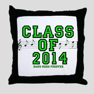 BandNerd.com: Class of 2014 Throw Pillow