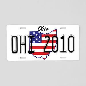 OH USA Aluminum License Plate