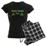 Foxy Irish Mom - 2 Women's Dark Pajamas