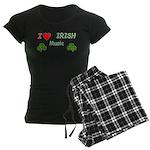 Love Irish Music Women's Dark Pajamas