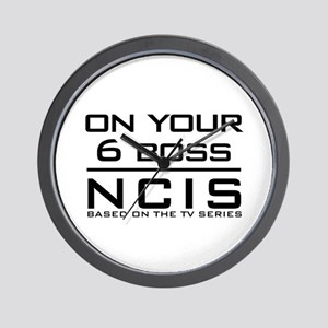On Your 6 Boss NCIS Wall Clock