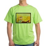 David Shannon for Libraries Green T-Shirt