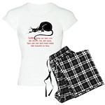 Sneaky Cats Women's Light Pajamas