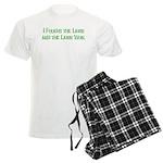 I Fought the Lawn Men's Light Pajamas