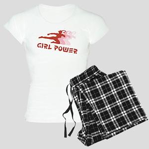 Martial Arts Girl Power Women's Light Pajamas