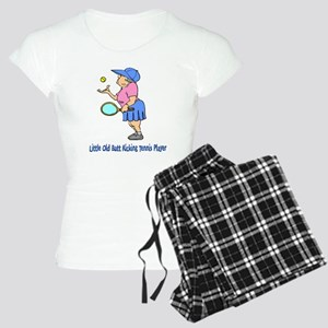 Butt Kicking Tennis Player Women's Light Pajamas