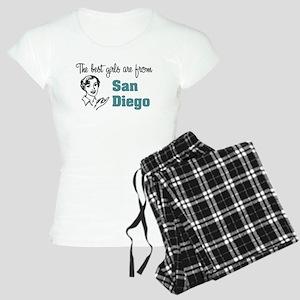 Best Girls San Diego Women's Light Pajamas
