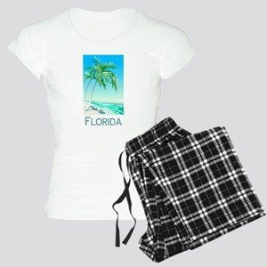 Florida Palms Women's Light Pajamas