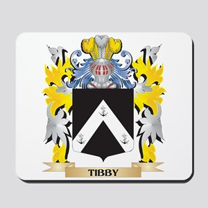 Tibby Family Crest - Coat of Arms Mousepad