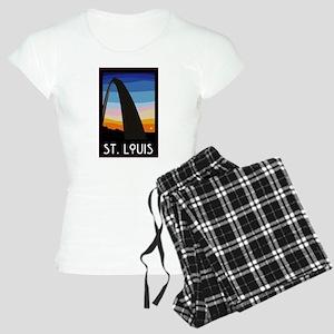 St. Louis Arch Women's Light Pajamas